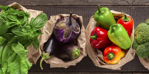 vegetables grown